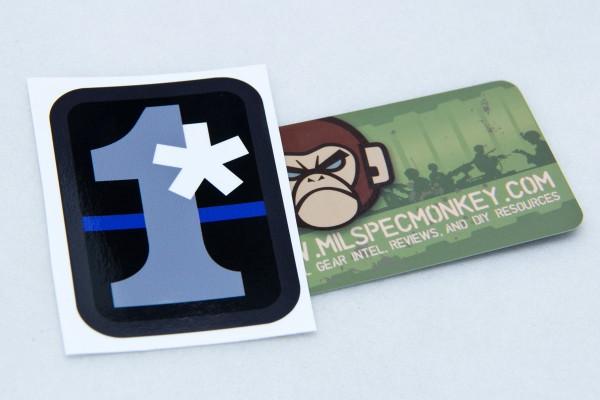Mil Spec Monkey 1 Assterisk Sticker