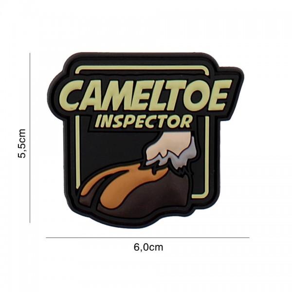 3D PVC Cameltoe Inspector Patch