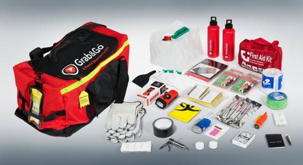 Grab&Co 4 Person Emergency Kit