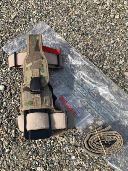 Extrema Ratio Ultramarine Multicam Sheath / Scheide - US Military Edition