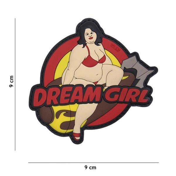 Patch 3D PVC Dream girl