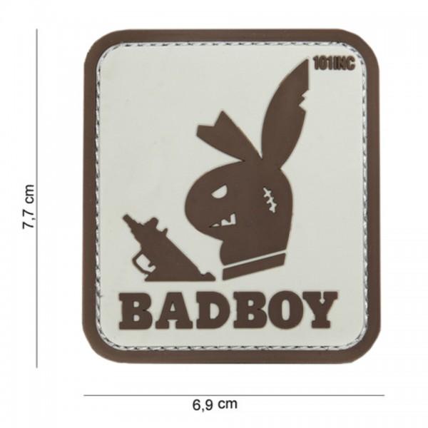 3D PVC badboy Patch