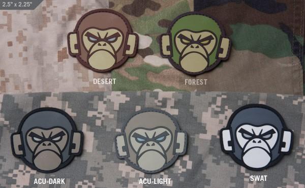 Mil Spec Monkey Patch Monkey Head PVC