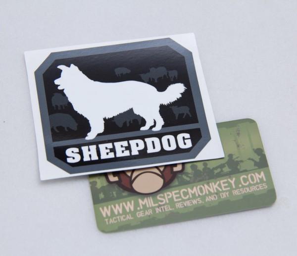Mil Spec Monkey Sheepdog Sticker