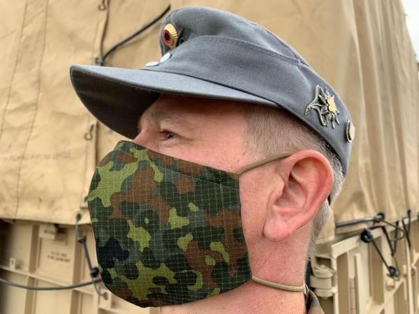 Bundeswehr Mund und Nasenschutz flecktarn