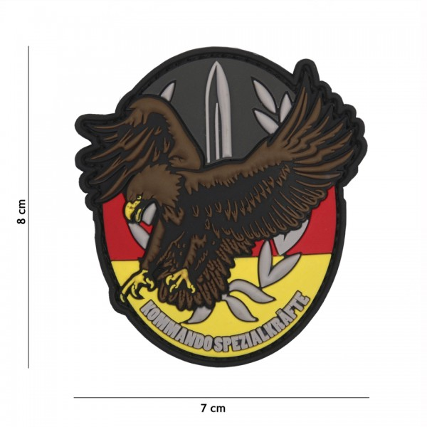 3D PVC Patch Kommando Spezial Kräfte