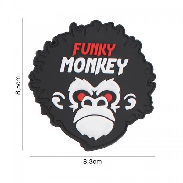 3D PVC Funky Monkey Patch