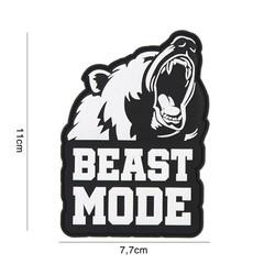 PVC 3D Patch Beast Mode
