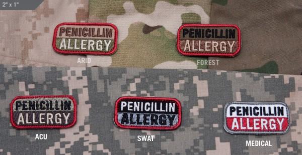 Mil Spec Monkey Patch Penicillin Allergy