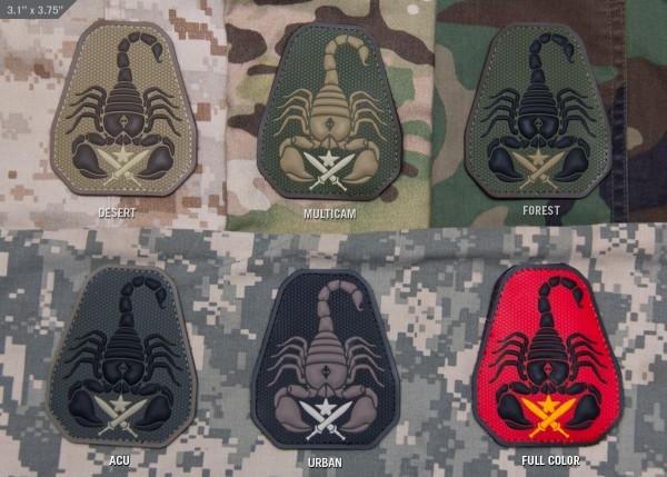 Mil Spec Monkey Patch Scorpion Unit PVC