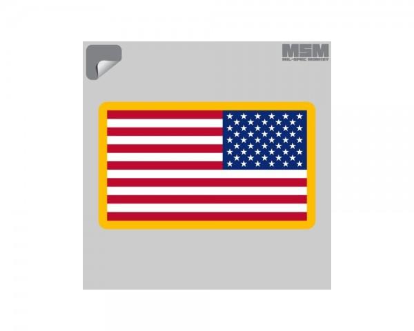 Mil Spec Monkey US Flag REV Sticker